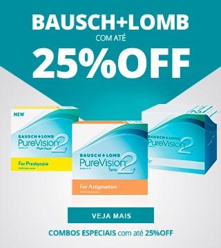 Promoções e Descontos Bausch Lomb
