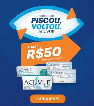 Promoção Piscou Voltou Acuvue