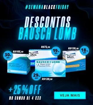 Black Friday - Lentes Bausch Lomb