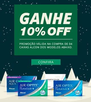 Ganhe Opti-Free 120ml na compra de duas caixas da marca alcon