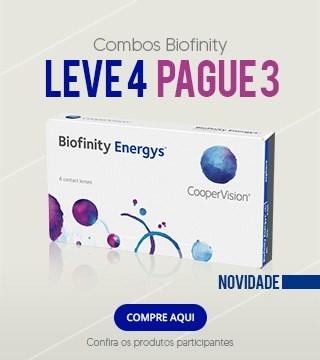 Chegaram as lentes Biofinity Energy