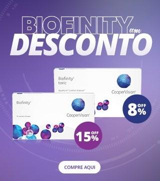 Biofinity com DESCONTO