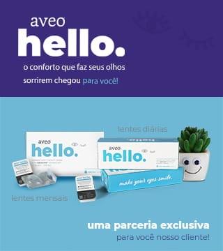 Lentes de contato Aveo Hello