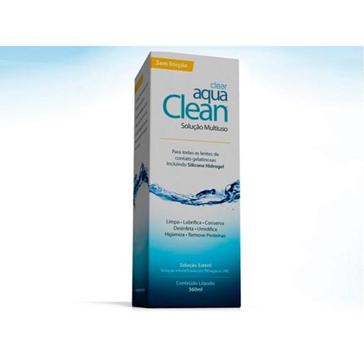 Aqua Clean 360 ml - Solução multiuso para lentes de contato