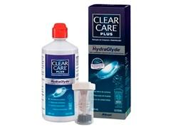 Clear Care Plus com Hydraglyde - Solução para limpeza de lentes de contato