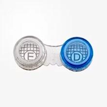 Estojo para lentes de contato transparente modelo SL-305
