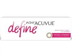 Lentes de Contato 1-Day Acuvue Define Shimmer - Efeito Realce Médio