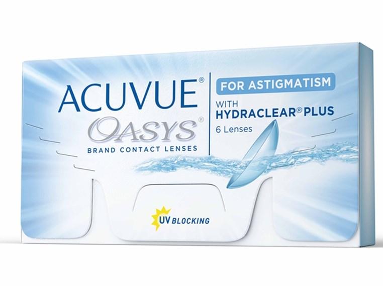 583ad953f733b Lentes de Contato Acuvue Oasys Astigmatismo