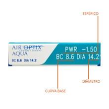 Lentes de Contato Air Optix Aqua