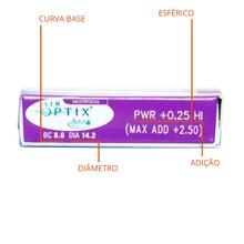 Lentes de Contato Air Optix Aqua Multifocal
