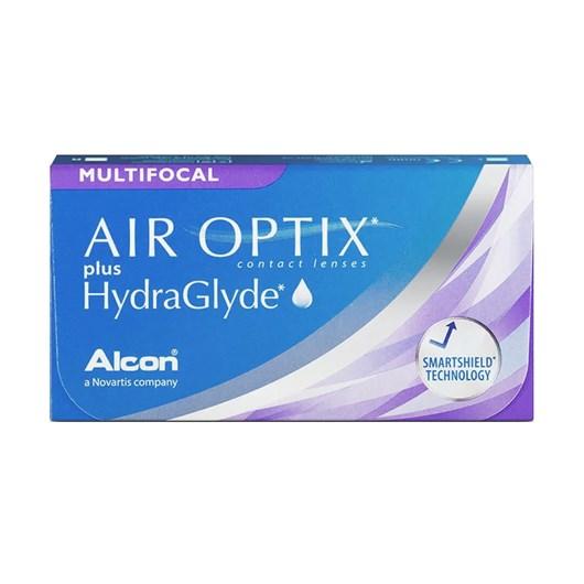 Lentes de Contato Air Optix Plus Hydraglyde Multifocal