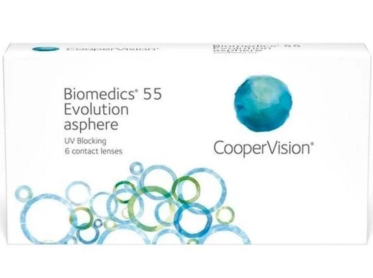 Lentes de Contato Biomedics 55 Evolution