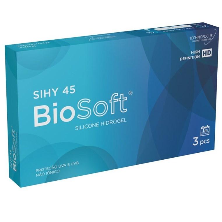 Lentes de Contato Biosoft Sihy 45
