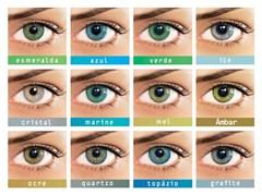 Lentes de Contato Colorida Natural Colors - COM GRAU