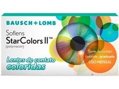 6ce3fbc780530 Lentes de Contato Colorida Soflens StarColors II - COM GRAU ...