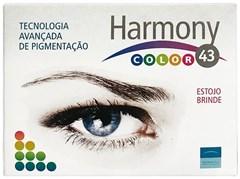 Lentes de Contato Coloridas HARMONY 43 COLOR - SEM GRAU