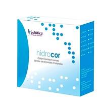 Lentes de contato coloridas Hidrocor - Kit sem grau
