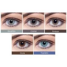 Lentes de contato coloridas Hidrocor Mensal - Com grau