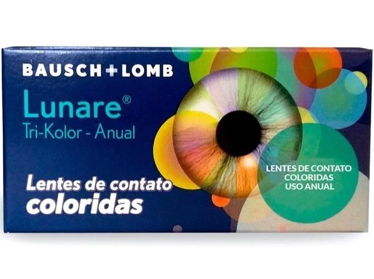 c52367c462cce Lentes de Contato Coloridas Lunare Tri-Kolor Anual - SEM GRAU