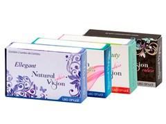 Lentes de Contato Coloridas Natural Vision Anual - Com Grau