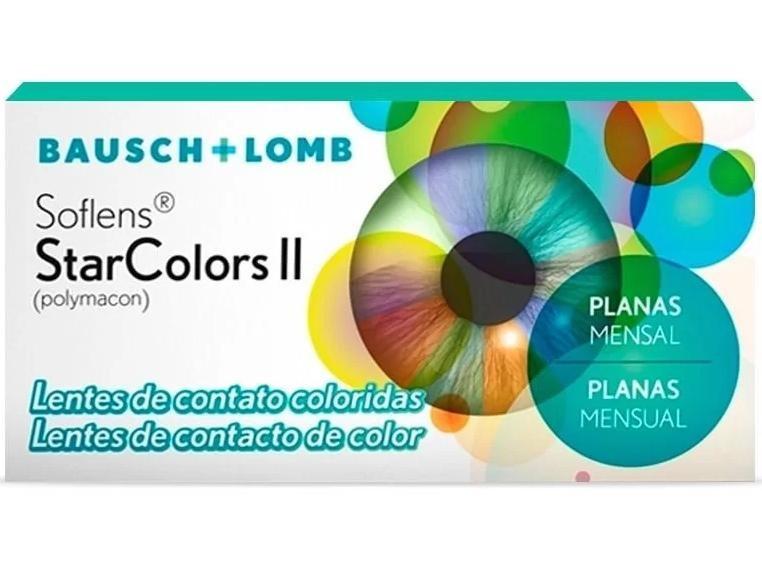 Lentes de Contato Coloridas Soflens StarColors II - SEM GRAU