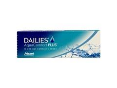 Lentes de contato Dailies Aqua Comfort Plus com 10 unidades