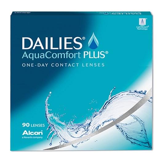 Lentes de contato Dailies AquaComfort Plus - Caixa com 90 lentes