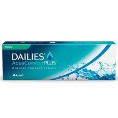 Lentes de Contato Dailies AquaComfort Plus Toric