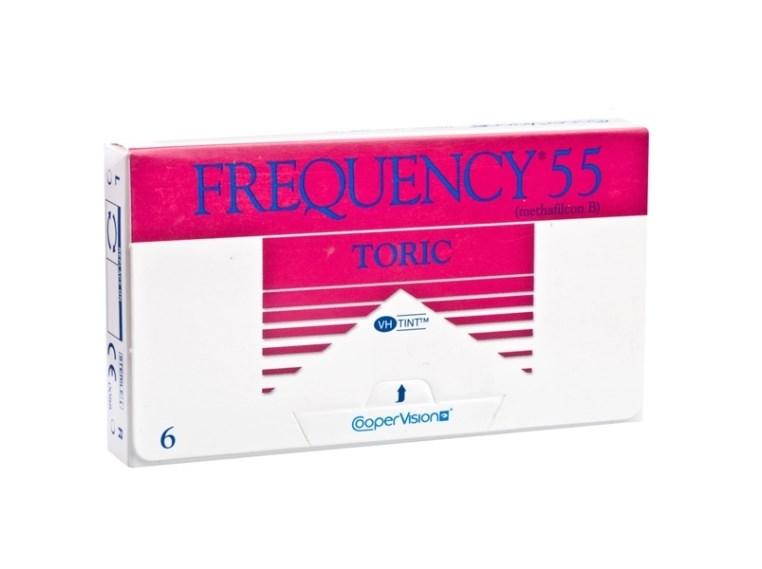 Lentes de Contato Frequency 55 Toric XR