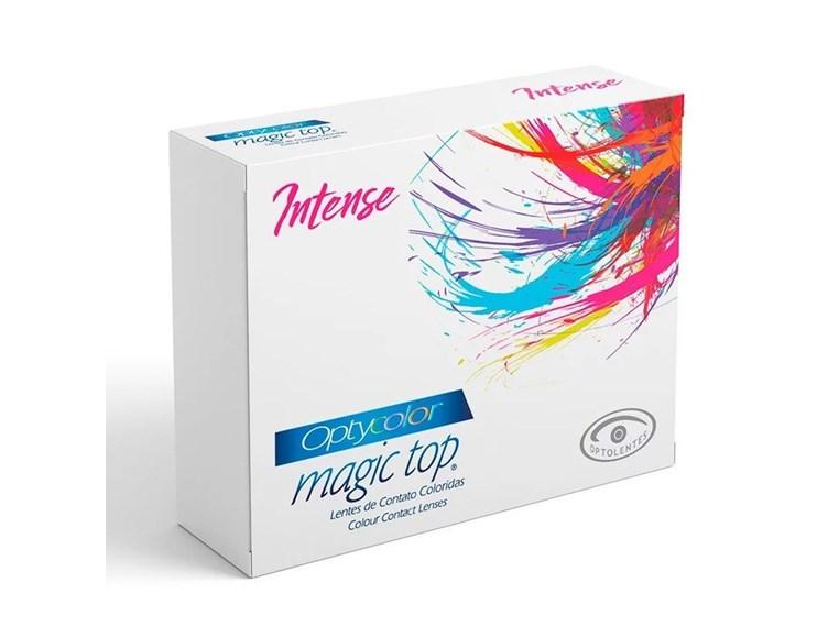 Lentes de contato Magic Top Optycolor Intense