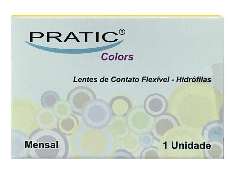 Lentes de Contato Pratic Colors - SEM GRAU