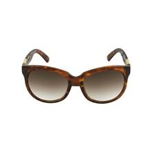 Óculos de Sol Evoke Mystique Tartaruga e Dourado / Marrom degradê 55