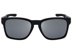 67a1384f8 Óculos de Sol Oakley Catalyst 9272L-09 Polarizado Preto / Prata Iridium  Espelhada ...