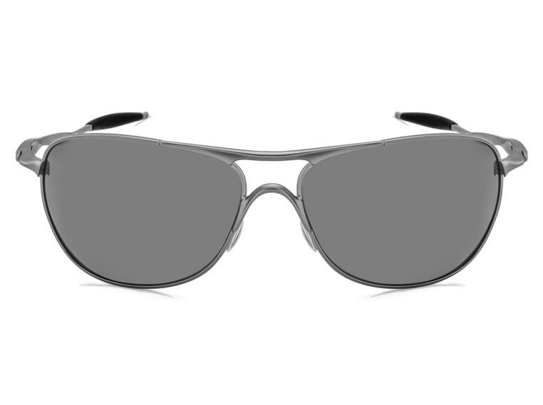 Óculos de Sol Oakley Crosshair 4060-06 Polarizado Prata Espelhado