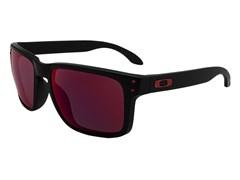 a8ccaaab1 ... Óculos de Sol Oakley Holbrook 9102L-36 Preto Fosco / Vermelho