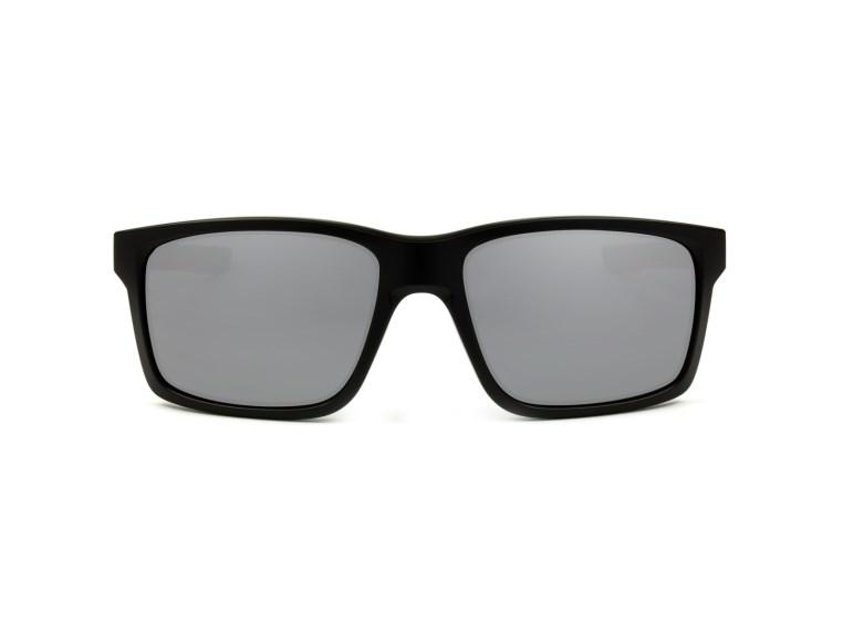 32abc5a92 Óculos de Sol Oakley Mainlink 9264-12 Preto com Vermelho / Prata Espelhado