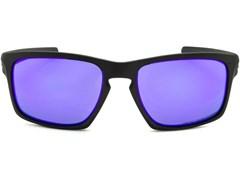 Óculos de Sol Oakley Sliver 9262L-10 Polarizado Preto / Violeta Iridium