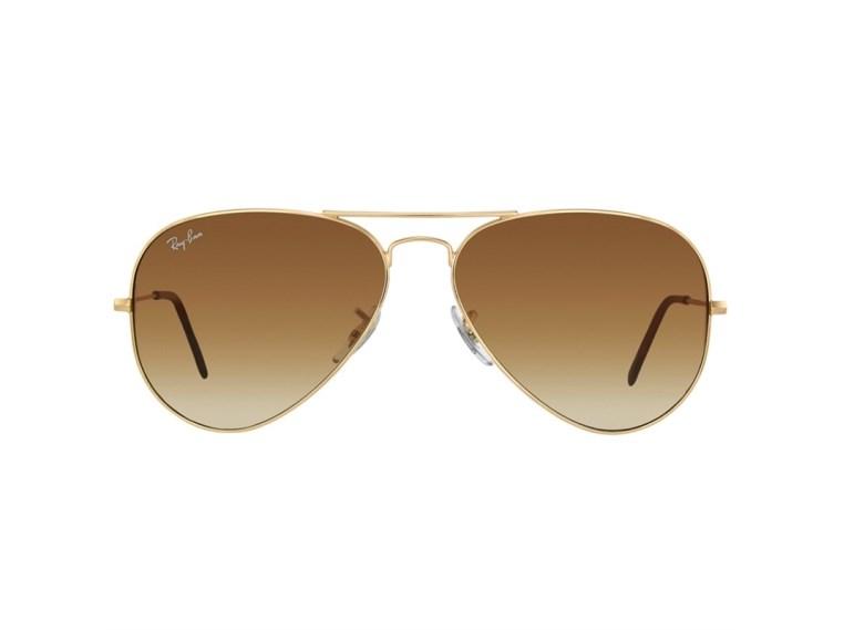 Óculos de Sol Ray Ban Aviator Large Metal RB3025L 001/51 58 2N