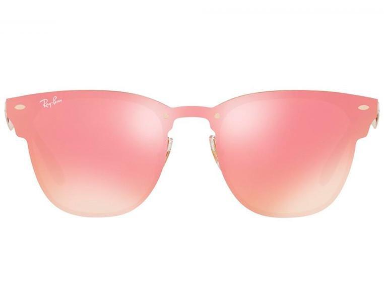 Óculos de Sol Ray Ban Blaze Clubmaster RB3576N 043/E4 47