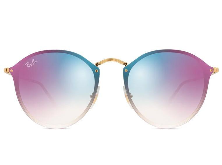 Óculos de Sol Ray Ban Blaze Round RB3574N 001/X0 59