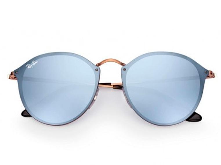 Óculos de Sol Ray Ban Blaze Round RB3574N 9035/1U 59