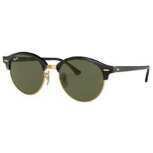 Óculos de Sol Ray Ban Clubround RB4246 901 51 Preto/Verde