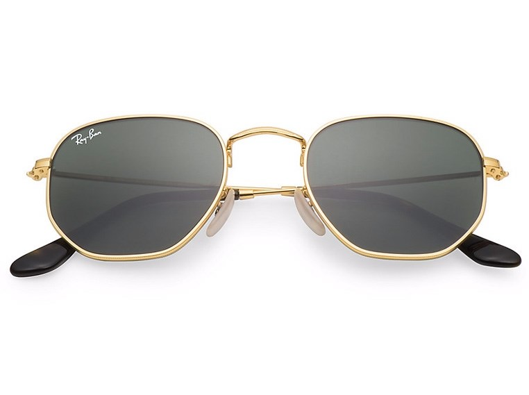 Óculos de Sol Ray Ban Hexagonal RB3548N 001 3N 54