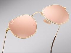 Óculos de Sol Ray Ban Hexagonal RB3548NL 001/Z2