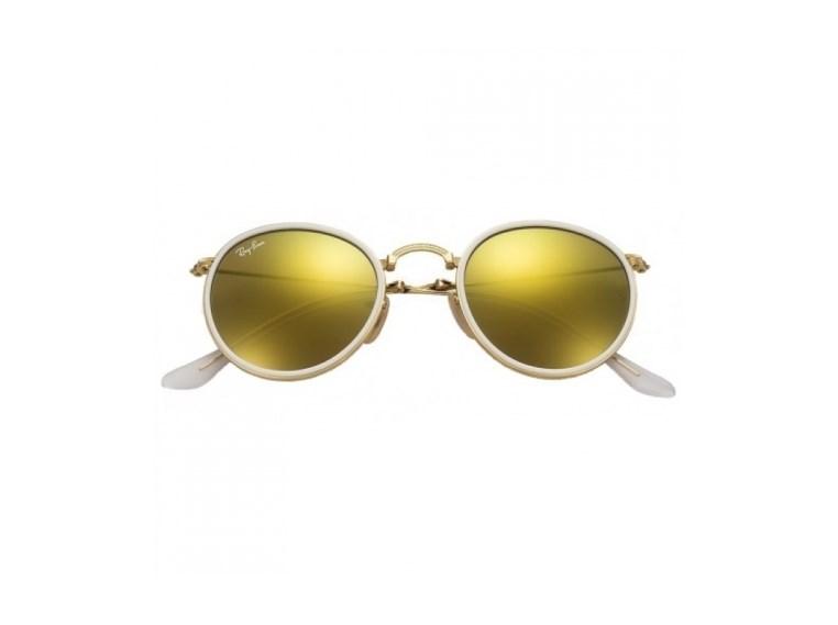 Óculos de Sol Ray Ban Round Dobrável RB3517 001/93 51 3N