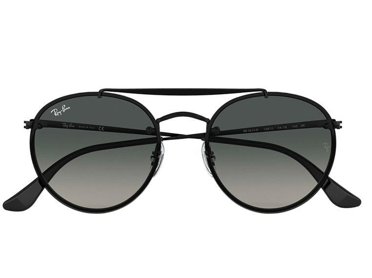 Óculos de Sol Ray Ban Round Double Bridge RB3614N 148/11 54