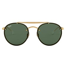 Óculos de Sol Ray-Ban Round Double Bridge RB3614N 9140/71 54