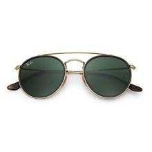 Óculos de Sol Ray-Ban Round Double Bridge RB3647N 001 51