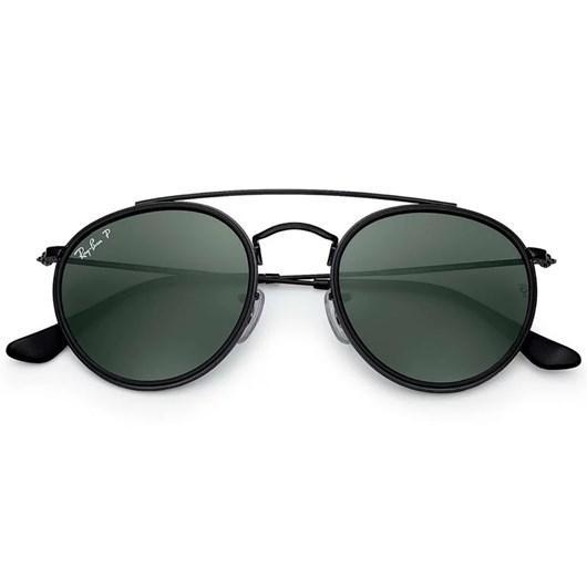 Óculos de Sol Ray-Ban Round Double Bridge RB3647N 002/58 3P