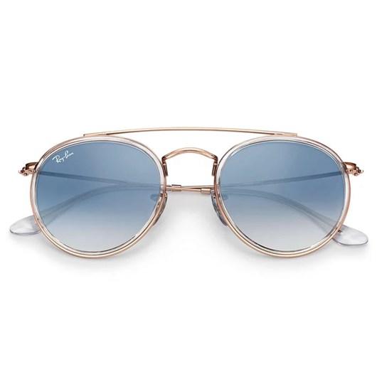 Óculos de Sol Ray Ban Round Double Bridge RB3647N 9068/3F 51